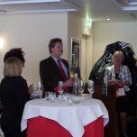 Herr Detlef Reich vom Bachem Verlag Köln während seiner Laudatio