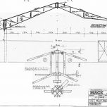 Bauzeichnung von der Jaguar-Bahn neu