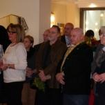Gäste des Empfangs im Vordergrund Vorstandsmitglied der Gemeinschaft Köln Schausteller Rudi von der Gathen