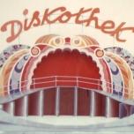 Modell der Diskothek